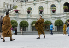 Monks buddhists Stock Photography