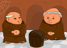 Monks Royalty Free Stock Photo