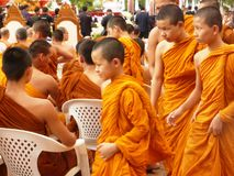 Monks in Chiang Mai / Thailand Stock Image