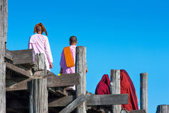 Monks Stock Photography