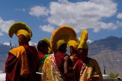 Monks Royalty Free Stock Photo