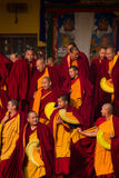 Monks Gyuto monastery, Dharamshala, India Royalty Free Stock Image