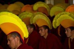 Monks Gyuto monastery, Dharamshala, India Royalty Free Stock Images