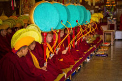 Monks Gyuto monastery, Dharamshala, India Royalty Free Stock Photos