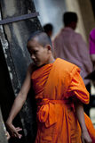 Monks in Kampuchea Stock Photography