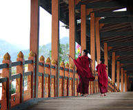 Monks in making Stock Photo