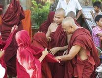 Monks Myanmar Burma Stock Photography