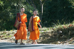 Monks Royalty Free Stock Images