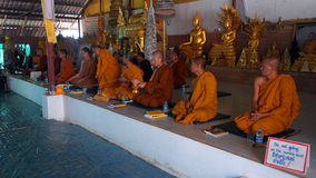 Monks in Phuket Thailand Stock Photos