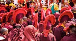 Buddhist Festival in Nepal, Kathmandu stock photography