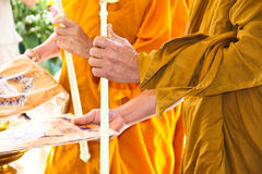 Monks requiem for the funeral liturgy Stock Photo