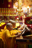 Monks. Royalty Free Stock Images