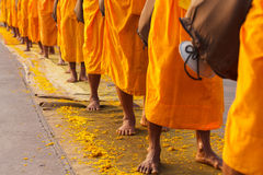 Monks in Thailand Stock Images