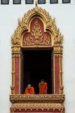 monksfönster Arkivfoton