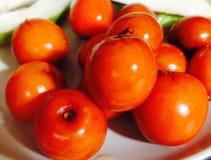 Monky apple Stock Image