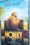 Monky filmu plakat obraz royalty free
