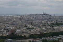 Monmantr van de Eifel-toren Royalty-vrije Stock Foto's