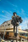 Monment del tango de Falda del La Fotografía de archivo libre de regalías