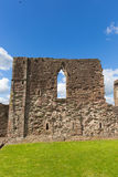 Monmouth castle Wales uk ruins of historic Welsh tourist attraction Wye Valley Stock Image