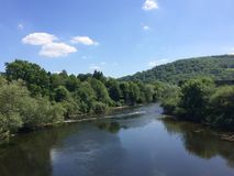 Monmouth-Eisenbrücke stockbilder
