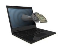 monnaie électronique Image stock