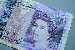 Monnaie fiduciaire Images stock