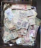 Monnaie fiduciaire turque ou devise Images libres de droits