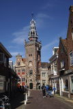 Monnickendam Nederlanden village Stock Image