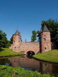 The Monnickendampoort in Amersfoort. The Monnickendampoort is a old water gate in Amersfoort Stock Photography