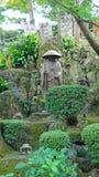 Monnik Shinran statuel van Kosanji Temple in Japan royalty-vrije stock afbeeldingen