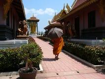 Monnik in Thailand Stock Fotografie