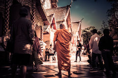 Monnik Thailand Royalty-vrije Stock Fotografie