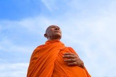 Monnik in Thailand Stock Afbeeldingen