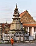 Monnik van Bangkok Stock Foto's
