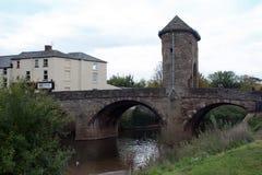 Monnow-Brücke 2 Stockfoto