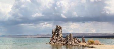 Mono озеро, Калифорния Стоковое Изображение RF