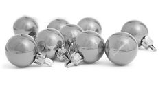 Mono Baubles Stock Images