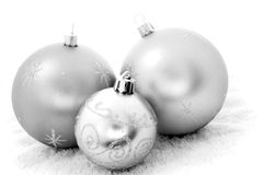 Mono Baubles Stock Photos