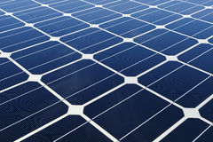 Mono-crystalline solar cells Stock Images