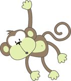 Mono dévil Fotos de archivo