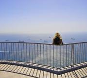 Mono de Gibraltar Imagen de archivo libre de regalías