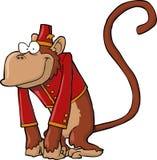 Mono de la amoladora de órgano Imágenes de archivo libres de regalías