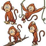 Mono de la historieta Fotos de archivo