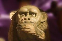Mono de madera Foto de archivo libre de regalías