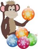 Mono del Año Nuevo Fotografía de archivo