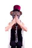 Mono del Año Nuevo Imagen de archivo libre de regalías