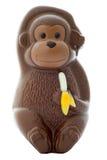 Mono del chocolate Foto de archivo