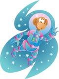 Mono del espacio Imagen de archivo libre de regalías