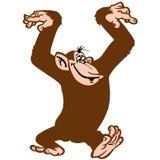 Mono divertido libre illustration
