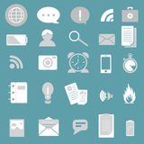 Mono flat icon Royalty Free Stock Photo